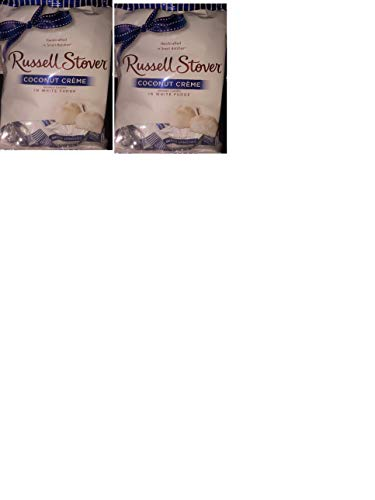 - Russell Stover Milk Chocolate Coconut creme in white fudge(pack of 2) Holiday Limited Edition