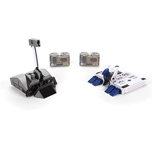 HEXBUG BattleBots Rivals 4.0 (Blacksmith and Biteforce) Toys for Kids, Fun Battle Bot Hex Bugs Black Smith and Bite Force (Ricochet Robots Board Game)
