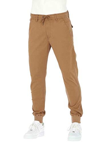 Rib Reell Brown Pantalon Reflex Ocre Rxqx50Pw