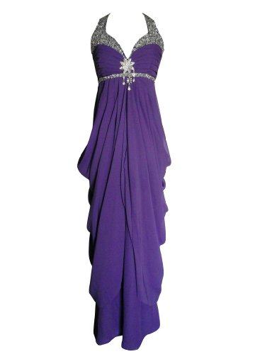 Alivila Morgenmantel Damen Fashion Y Violett raqPr