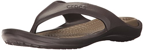 Crocs Athens Flip Flop, Espresso/Walnut, 10 US Men / 12 US Women by Crocs