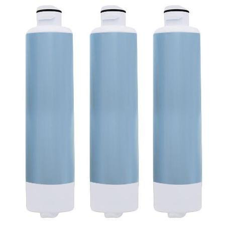 Supernon Aqua Fresh Replacement Water Filter for Samsung RF28HMEDBSR/AA Refrigerators (3 Pack) (Filters Fridge Samsung)