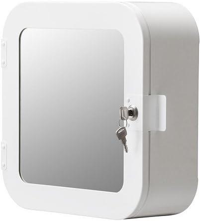 Armadio Con Chiave Ikea.Ikea Gunnern Armadio Con Serratura Bianco 32 X 32 Cm Amazon It Casa E Cucina