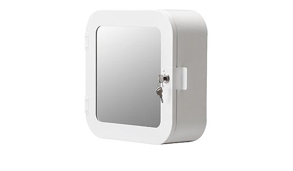 Ikea GUNNERN - Armario con Cerradura, Blanco - 32x32 cm: Amazon.es: Hogar