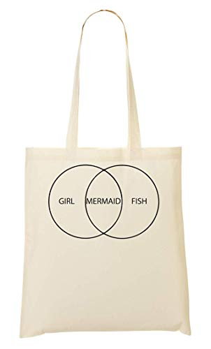 À Fish Mermaid Girl Provisions Sac Fourre tout wfOqxqXd