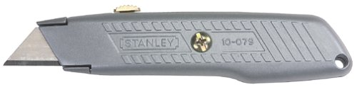 Stanley Retractable Utility Knife - Stanley 10-079 Retractable Blade Utility Knife