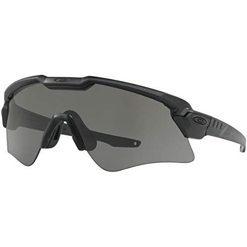 Oakley Men's Standard Issue Ballistic M Frame Alpha Sunglasses,OS,Matte Black/Clear (Oakley Sunglasses M Frame)