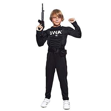 Disfraz Policía SWAT Niño (7-9 años) (+ Tallas) Carnaval ...