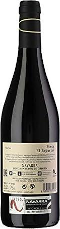 Finca el Espartal Roble - Vino Tinto - DO Navarra - Pack de 3 botellas 750ml - Total 2250ml