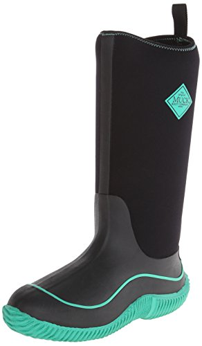 MuckBoots Women's Hale Snow Boot,Black/Jade,7 M US by Muck Boot
