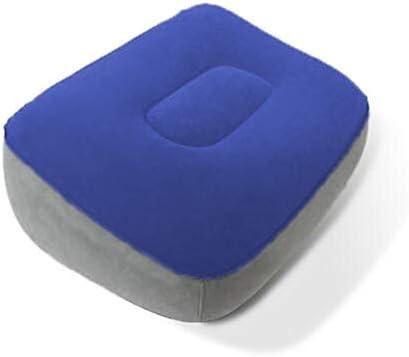 [해외]Gundoop 풋 레스트 휴대용 다리 베개 발 비행기 기내 차 사무실 책상 이코노미 증후군 방지 붓기 예방 피로 해소 (파랑) / gundoop footrest portable foot pillow foot pillow Airplane airplane airplane car office desk economy syndrome measur...