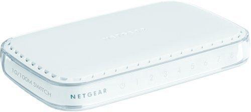 NETGEAR 8-Port Fast Ethernet Switch (FS608)