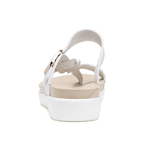 Z.suo Sandalo Bianco Sandalo Infradito Da Donna