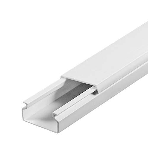 SCOS Smartcosat SCOSKK77 20 m Kabelkanal (L (L (L x B x H 2000 x 15 x 10 mm, PVC, Kabelleiste, Schraubbar) weiß B07HYZJWZ3 | Niedriger Preis  9dc81f