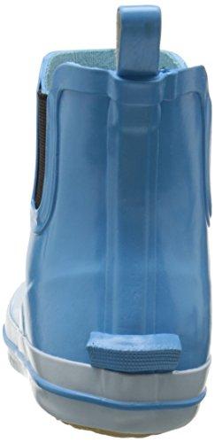 Kamik SHARONLO - botas de goma forradas y de caño bajo de goma mujer azul - Blau (LT BLUE / LBL)