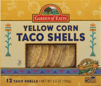 Corn 12 Shells - Garden Of Eatin Organic Yellow Corn Taco Shells (12x5.5 OZ)