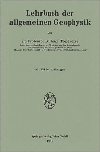 Lehrbuch der allgemeinen Geophysik