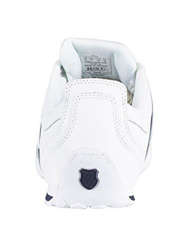 Uomo white Scarpe white Bianco Basse 1 Da 5 navy silver 106 Ginnastica K swiss Arvee IP8I4Z