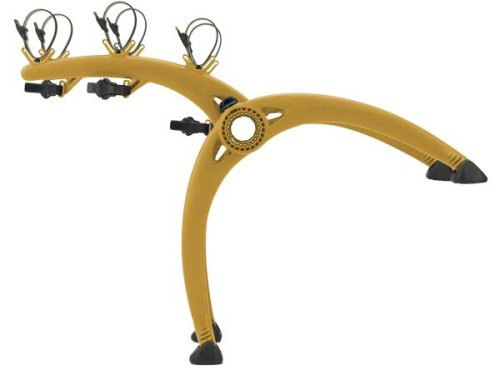 Saris Cycle (Saris Bones 801Y 3-Bike Trunk Mount Rack (Yellow))