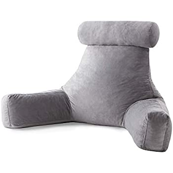 Amazon Com Mittagong Backrest Reading Pillow With Arms