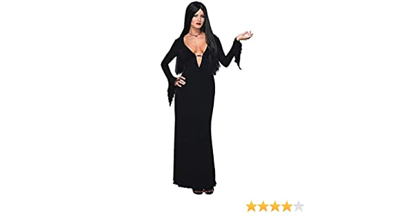 Rubies Disfraz de Morticia Familia Addams sexy - M: Amazon.es ...