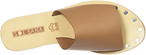 Sol Sana Womens Teresa Stud Slipper Tan