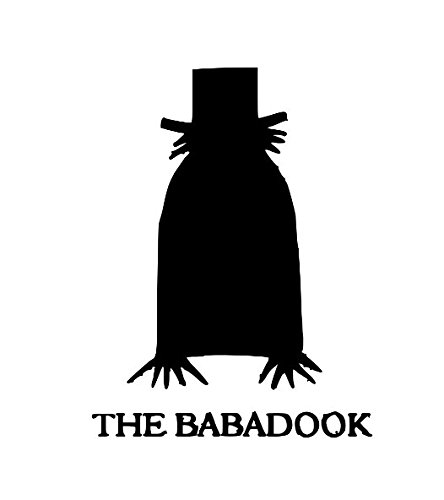 The Babadook Horror Vinyl Decal Bumper Computer Sticker Cling Scary Halloween