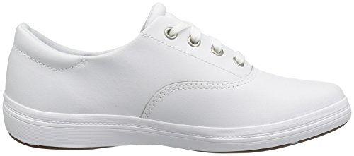 Leather Janey Fashion White Sneaker Women's Grasshoppers Ii Leather Oq0vB5Tw