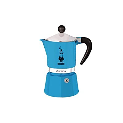 Bialetti 5242 Rainbow Espresso Maker, Blue