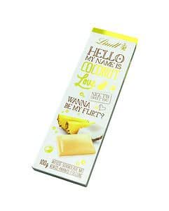 Lindt HELLO my Name is Coconut Love-100g 3.5oz-LIMITED