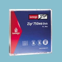 Iomega 4PK ZIP 250MB DISKS IN SLEEVES - PC/MAC (Discontinued by Manufacturer) by Iomega