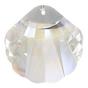 Jolees Jewels Swarovski Elements - EK Success Jolee's Jewels Swarovski Elements Jewelry Pendant Shell 28mm Crystal
