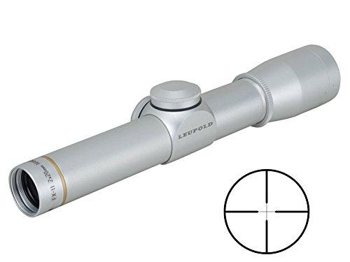 Scope 2x20mm Pistol (Leupold FX-II Handgun 2x20mm Duplex, Silver)