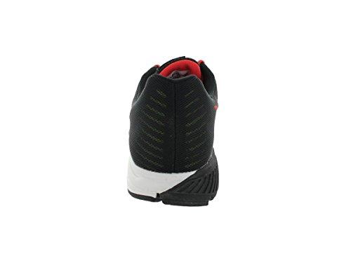 Nike Zoom Structure +17 615587-010 Herren Laufschuhe Negro / Verde / Naranja / Blanco (Black / Volt-Lt Crimson-White-)