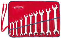 Proto - 10Piece Satin Metric Open-End Wrench Set (J30000A)