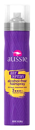 Aussie Air Spray Alcohol-Free Hairspray 7 Ounce Maximum Hold (207ml) (6 Pack) ()