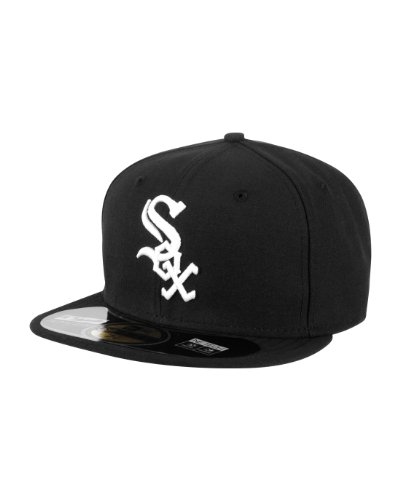 Sox 59fifty Authentic Cap - Chicago White Sox Black Game Authentic 2012-2013 On-Field 59FIFTY Fitted Hat
