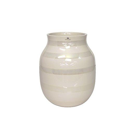 [ケーラー] Kahler オマジオ パール フラワーベース 花瓶 ミディアム Omaggio H200 pearl [並行輸入品] B01N802D8C