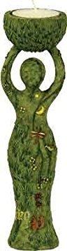 Polyresin T-light Holder Nurturing Goddess by Kheops International (Image #1)
