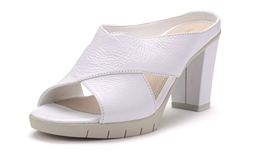 Girl Cross Femme Sabot The Flexx Talon Blanc P0qx4pSnw