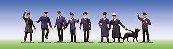 - Faller 151003 Railway Staff w/Dog 9/HO Scale Figure Set