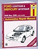 Ford Contour and Mercury Mystique Automotive Repair Manual: All Ford Contour and Merury Mystique Models1995 Through 1998 (Haynes Automotive Repair Manual Series)