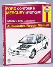 Ford Contour Manual - Ford Contour and Mercury Mystique Automotive Repair Manual: All Ford Contour and Merury Mystique Models1995 Through 1998 (Haynes Automotive Repair Manual Series)