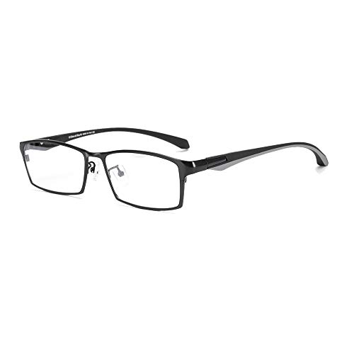 Eileen&Elisa Non Prescription Glasses Frame with Titanium Optical Eyeglasses for ()