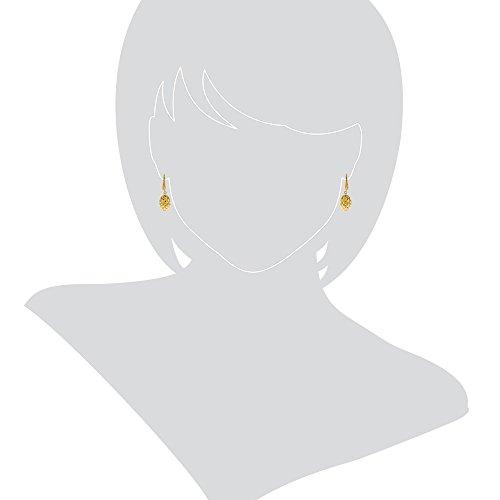 Gioiello Italiano Boucles d'oreille en or jaune 14carats