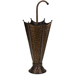Imax 47098 Umbrella Stand - Handcrafted Umbrella Storage Solution, Umbrella Holder for Outdoor, Indoor - Durable Umbrella Rack. Patio Furniture and Accessories