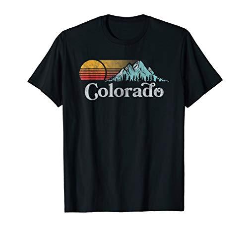 Retro Vibe Colorado T-Shirt - Vintage Style ()