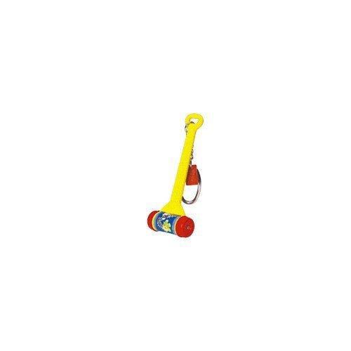 Basic Fun - Fisher Price Keychain - Melody Push Chime