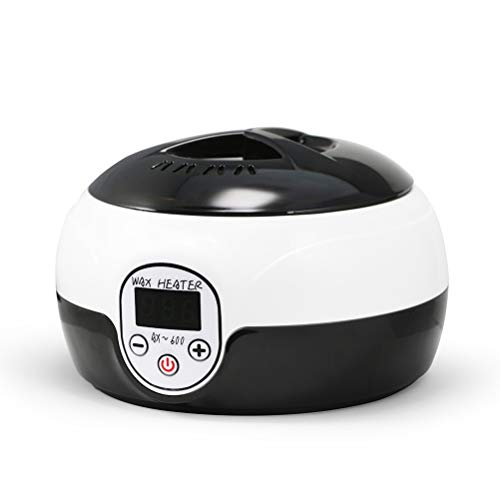 Wax Warmer with LED Screen for Brazilian Wax etc, with 500ML Wax Pot,Salon Spa Fast Portable Hair Removal Equipment from Wax Heater