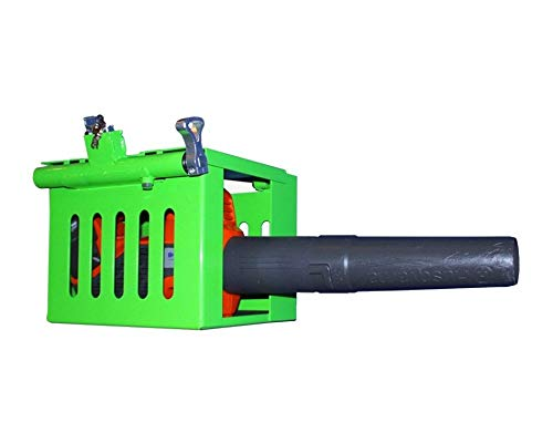 Green Touch MTC100 Multi-Tool Cage Rack for Open and Enclosed Trailers - Chainsaw, Handheld Blower, Hedge Trimmer Rack